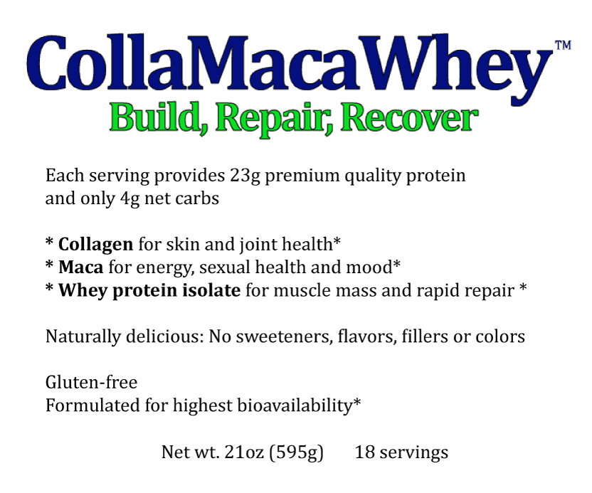 CollaMacaWhey™ FAQ's
