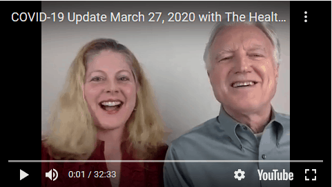 COVID-19 Update VIDEO Friday March 27