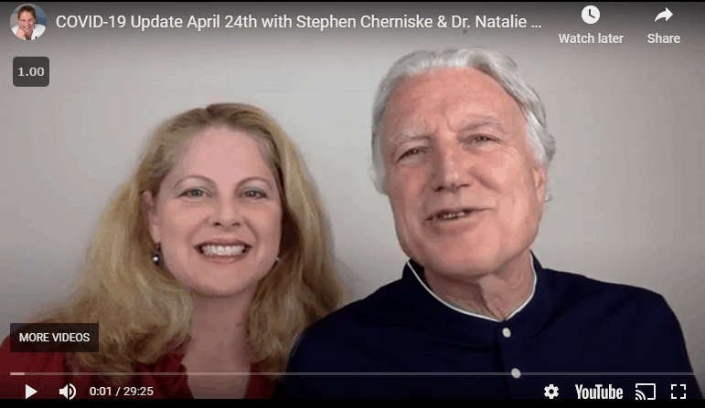 COVID-19 Update with Stephen & Dr. Natalie April 24
